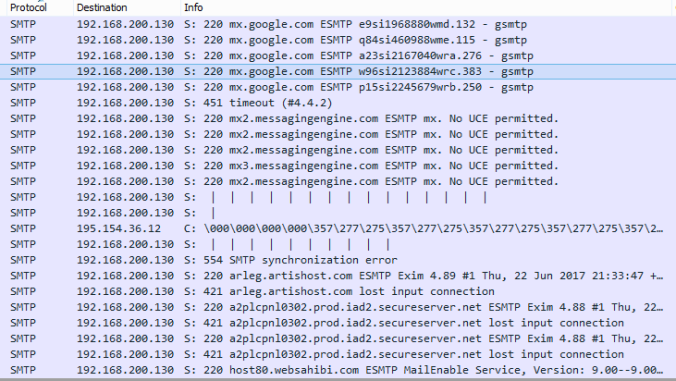 SMTPspam